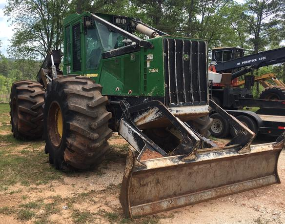 Forestry21- Used Skidders